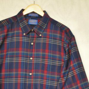 Pendleton Wool Button Down XL
